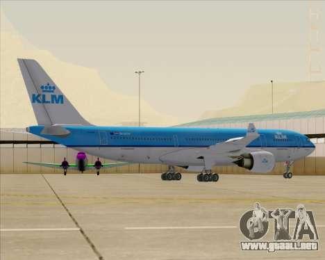 Airbus A330-200 KLM - Royal Dutch Airlines para las ruedas de GTA San Andreas