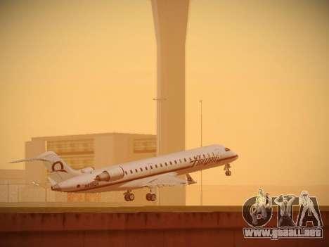 Bombardier CRJ-700 Horizon Air para GTA San Andreas vista hacia atrás