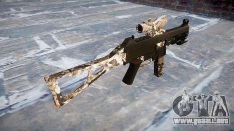 Pistola de UMP45 Viper para GTA 4 segundos de pantalla