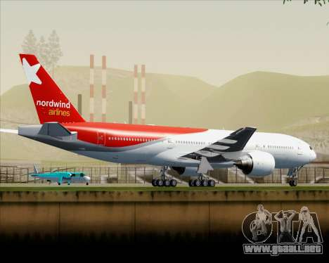 Boeing 777-21BER Nordwind Airlines para GTA San Andreas interior
