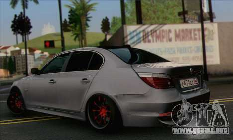 BMW M5 Stanced para GTA San Andreas left