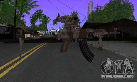 Sa-58V ACOG para GTA San Andreas segunda pantalla