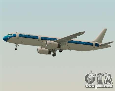 Airbus A321-200 American Pacific Airways para visión interna GTA San Andreas