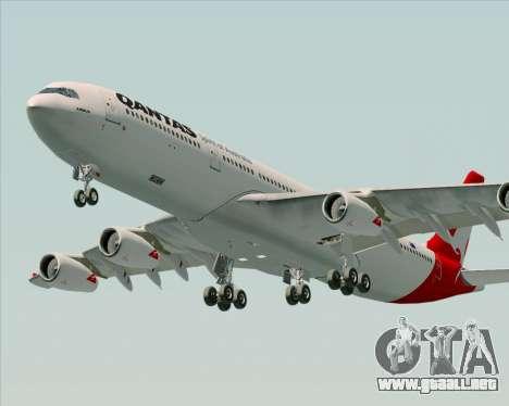 Airbus A340-300 Qantas para el motor de GTA San Andreas