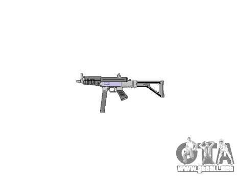 Pistola Taurus MT-40 buttstock2 icon4 para GTA 4 tercera pantalla