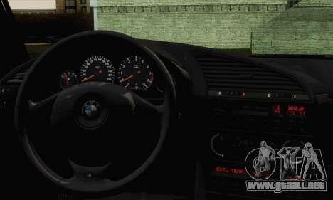 BMW M3 E36 Tuned para GTA San Andreas vista posterior izquierda