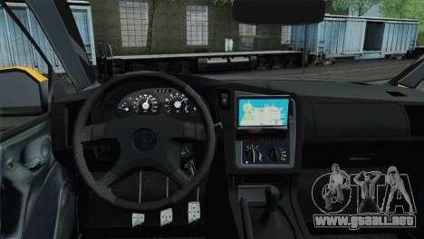 Opel Astra G Caravan para GTA San Andreas vista posterior izquierda