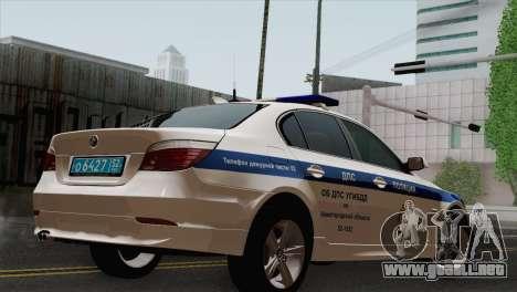 El BMW 530xd DPS para GTA San Andreas left