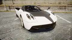 Pagani Huayra 2013 [RIV] Carbon para GTA 4