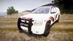 Chevrolet Suburban 2008 Hebron Police [ELS] Red para GTA 4