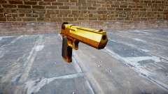 Pistola IMI Desert Eagle Mc XIX Oro