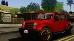 Canis Mesa para GTA San Andreas