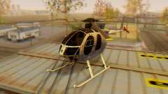 El MD500E helicóptero v3