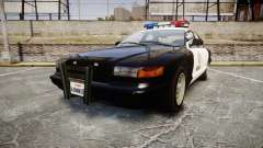 Vapid Police Cruiser MX7000 para GTA 4