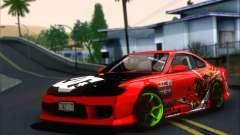 Nissan Silvia S15 Team Drift Monkey para GTA San Andreas
