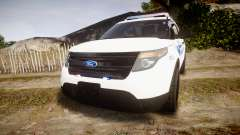 Ford Explorer 2013 PS Police [ELS] para GTA 4
