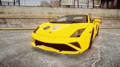 Lamborghini Gallardo 2013 Honoka Kousaka para GTA 4