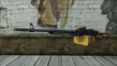 La Ametralladora Kalashnikov Modernizado