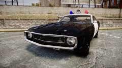 Shelby GT500 428CJ CobraJet 1969 Police para GTA 4