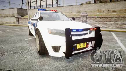 GTA V Cheval Fugitive LS Liberty Police [ELS] para GTA 4