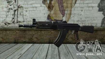 Moderno AKS-74U para GTA San Andreas
