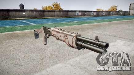 Ружье Franchi SPAS-12 de los Cerezos en flor para GTA 4