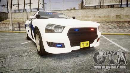 GTA V Bravado Buffalo Liberty Police [ELS] Slick para GTA 4