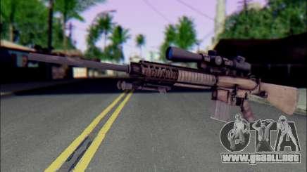 M110 con una mira Óptica para GTA San Andreas