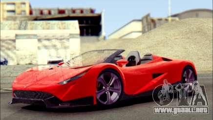 Specter Roadster 2013 para GTA San Andreas
