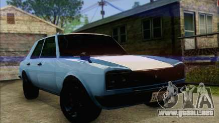 Vulcar Warrener V2 para GTA San Andreas