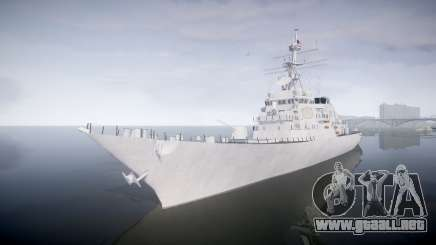 US Navy Destroyer Arleigh Burke para GTA 4