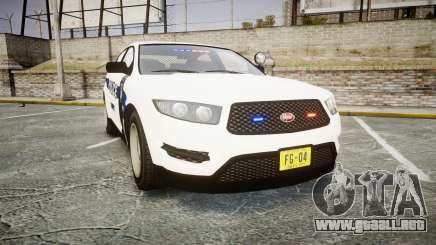 GTA V Vapid Interceptor LP [ELS] Slicktop para GTA 4