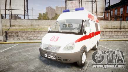 GAS-32214 Ambulancia para GTA 4