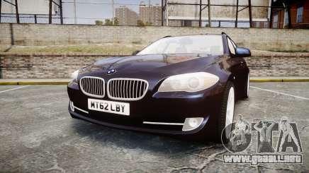 BMW 530d F11 Unmarked Police [ELS] para GTA 4