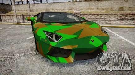 Lamborghini Aventador LP760-4 Camo Edition para GTA 4