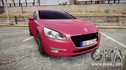 Peugeot 508 v1.2 para GTA 4