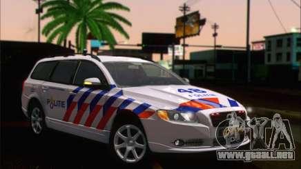 Volvo V70 LE Politie para GTA San Andreas