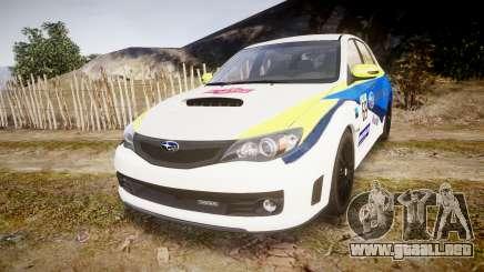 Subaru Impreza Cosworth STI CS400 2010 Custom para GTA 4
