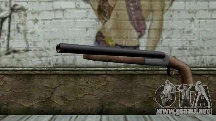Sawn Off Shotgun from Beta Version para GTA San Andreas
