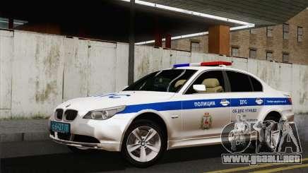 El BMW 530xd DPS para GTA San Andreas