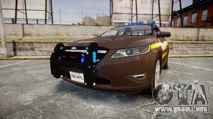 Ford Taurus Sheriff [ELS] Virginia para GTA 4