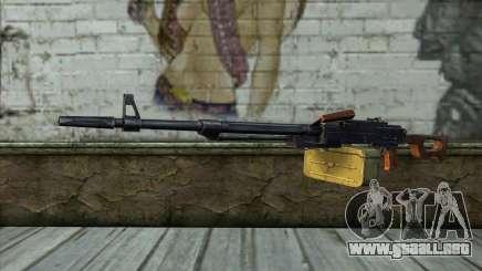 La Ametralladora Kalashnikov Modernizado para GTA San Andreas