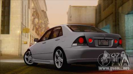 Toyota Altezza (RS200) 2004 (HQLM) para GTA San Andreas left