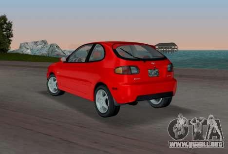Daewoo Lanos Sport NOSOTROS 2001 para GTA Vice City vista lateral izquierdo