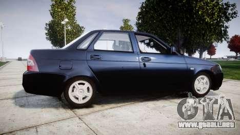 ВАЗ-2170 Lada Priora de stock para GTA 4 left