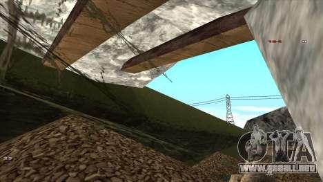 Трасса Offroad v1.1 por Rappar313 para GTA San Andreas séptima pantalla