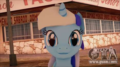 Colgate from My Little Pony para GTA San Andreas tercera pantalla