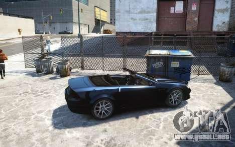 Benefactor Feltzer Grey Series v3 para GTA 4 left