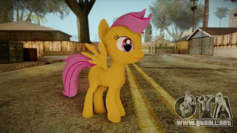 Scootaloo from My Little Pony para GTA San Andreas