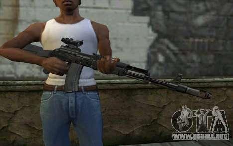 Glock-17 Silenced para GTA San Andreas tercera pantalla